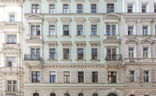 Außenfassade Amerlingstraße 3, Wien