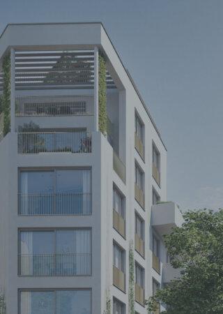 Neubauprojekt Sandleitengasse 68 am Fuße des Wilhelminenbergs